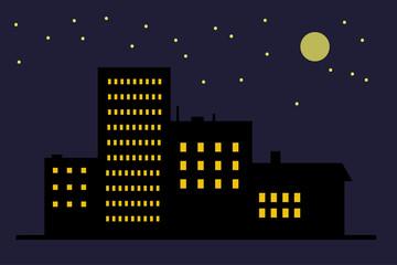 Night town icon
