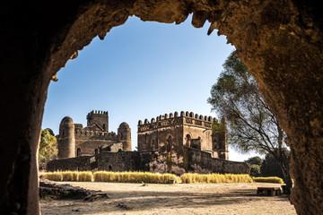 Äthiopien  - Gondar - Kaiserpfalz - Fasil Ghebbi