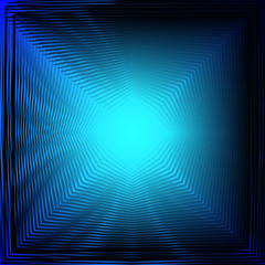 The distortion of the screen. Blue star. Pulsar. Wave ultraviolet light. Metallic blue. Nice background.