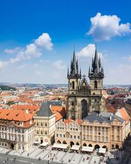 Tyn Church Prague Czech Republic