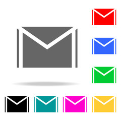 mail icons. Elements of human web colored icons. Premium quality graphic design icon. Simple icon for websites, web design, mobile app, info graphics