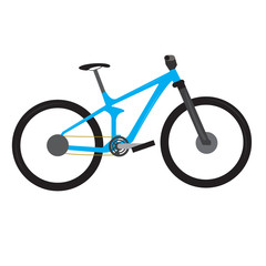 Isolated bicycle icon