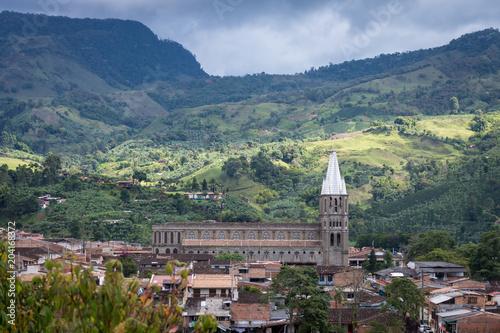 Village De Jardin Antioquia Colombie Stock Photo And Royalty Free