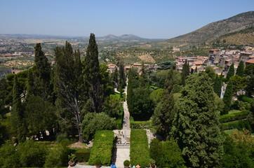 Villa d`Este gardens, Tivoli, Italy