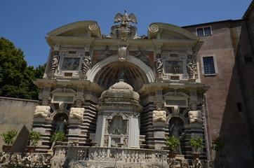 Villa d'Este; ancient history; historic site; estate; building