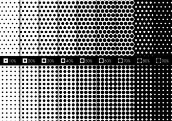 Obraz コミック背景「ドット(B)」(ver.CS6) - fototapety do salonu