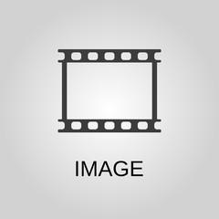 Image icon. Image symbol. Flat design. Stock - Vector illustration