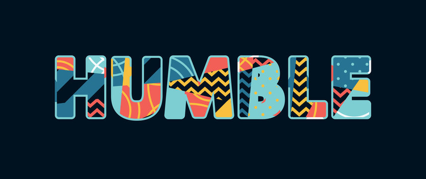 Humble Concept Word Art Illustration