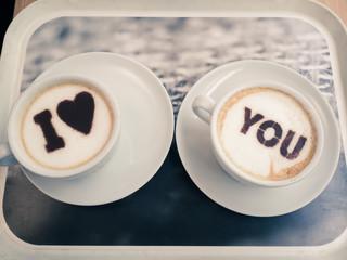 I love you café