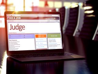 We Hiring Judge. 3D.