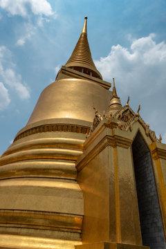 Goldene Stupa im Großen Palast Bangkok