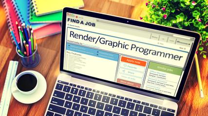 Now Hiring Rendergraphic Programmer. 3D.