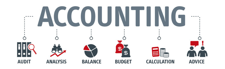 Banner accounting concept