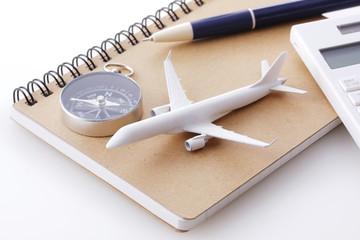飛行機 旅行イメージ Air travel image