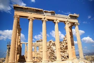 アクロポリスの遺跡