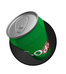 Canette de soda