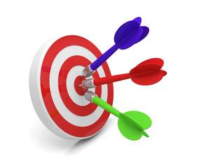 fléchette flèche cible objectif atteindre