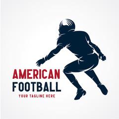 American Football Logo Designs Template