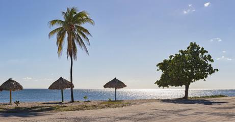 Scenic view of Playa Ancon beach, Trinidad, Cuba
