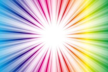 背景素材壁紙,,大爆発,集中線,電波,電磁波スパーク,閃光,エネルギー,情報通信,ビーム,太陽,日光