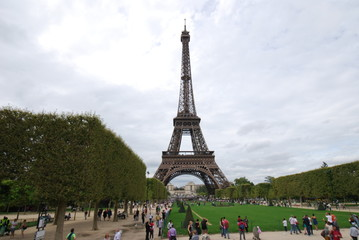 Eiffel Tower; landmark; national historic landmark; monument; tower