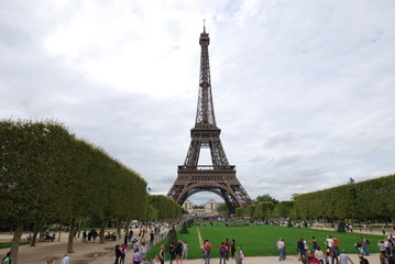Eiffel Tower; landmark; tower; national historic landmark; tourist attraction