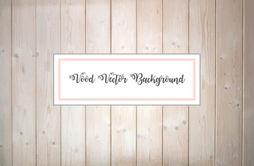 Pink wood vector background. Design element.