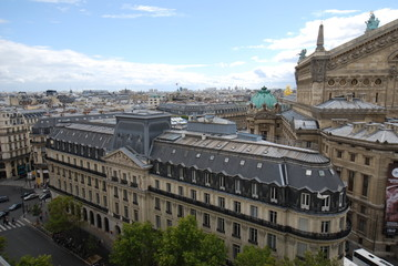 Palais Garnier; city; landmark; building; urban area