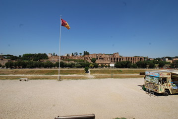 Circus Maximus; sky; atmosphere of earth; daytime; beach
