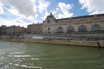 Musée d'Orsay; waterway; sky; water; river