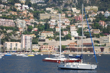 Port of Nice; marina; harbor; water transportation; boat