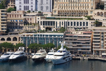 Port de Fontvieille; marina; water transportation; harbor; dock