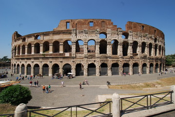 Colosseum; Colosseum; Rome; Colosseum; landmark; historic site; ancient rome; amphitheatre