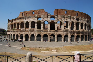 Colosseum; Colosseum; Rome; Colosseum; amphitheatre; historic site; ancient roman architecture; landmark