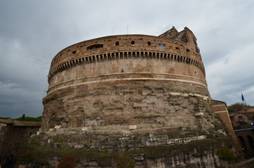 Castel Sant'Angelo; historic site; fortification; sky; ancient history