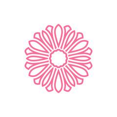 Vector flower Icon