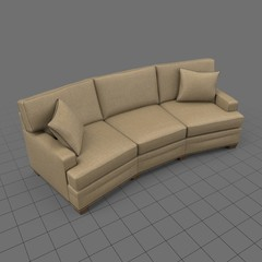 Three seat corner sofa
