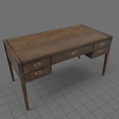 Classic wooden desk