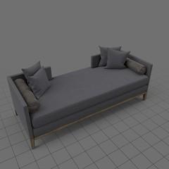 Modern chaise