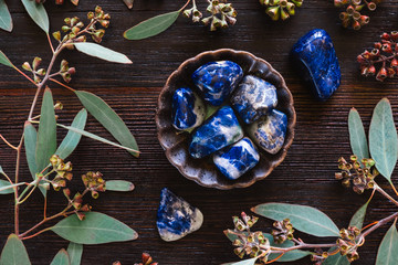 Sodalite and Eucalyptus