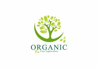 Organic Logo Vector Element Symbol