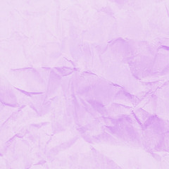 Pink crumpled paper for background image