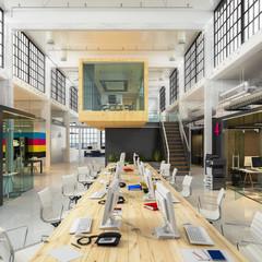Großraumbüro - Bürogebäude - Fabrikhalle - Bürofläche - Gewerbefläche - Immobilie