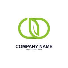 Leaf Logo Vector Element Symbol
