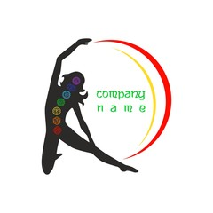 the logo yoga