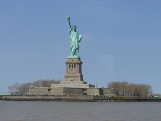 Statue of Liberty; statue; monument; landmark; national historic landmark