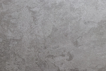 Texture of gray decorative plaster.