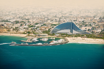 Dubai Jumeirah beach, UAE. Travel destination.