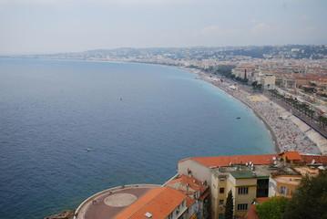 Nice; sea; body of water; coast; aerial photography