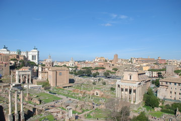 Roman Forum; town; historic site; geographical feature; landmark